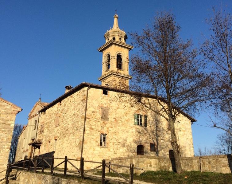 Santuario di Santa Maria del Monte: quiete in Val Tidone